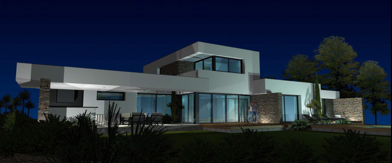 Villa MS - Architecte Georges BOFILL